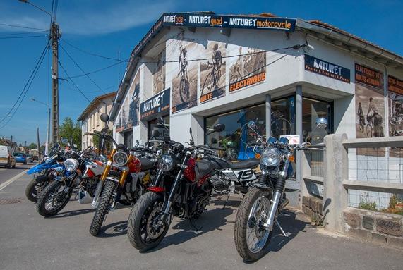 Atelier quads et motos à Verdun en Meuse